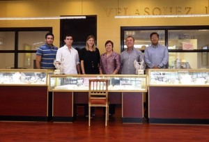 velasquez Jewelers staff vagoldbuyers